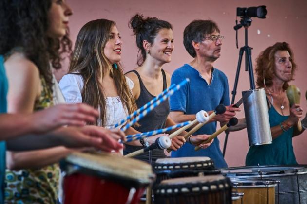 Workshop – Percussions – Découverte